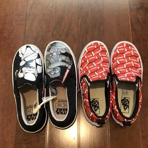 Vans boys 1 2 pairs